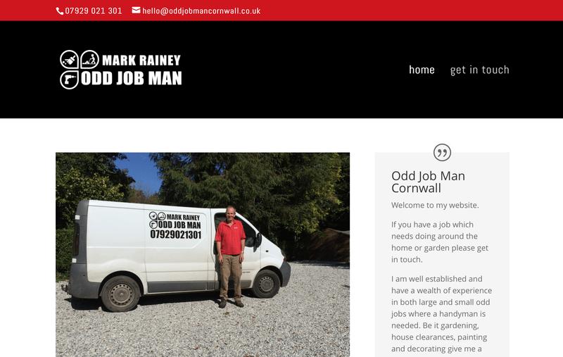 Odd Job Man Cornwall