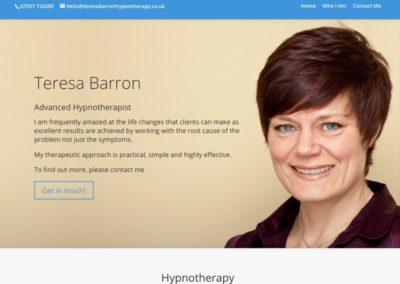 Teresa Barron Hypnotherapy
