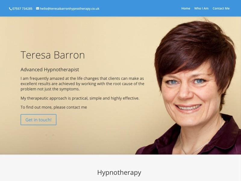 Teresa Barron - Hypnotherapist